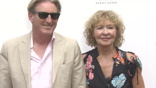 Adrian Dunbar Anna Nygh at South Bank Sky Arts Awards at The South Bank Centre on July 09 2017 in London England
