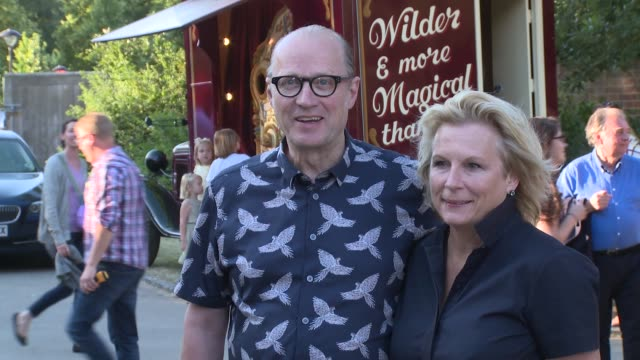adrian edmondson jennifer saunders at chiswick house and gardens on june 28 2018 in london england - jennifer saunders stock videos & royalty-free footage