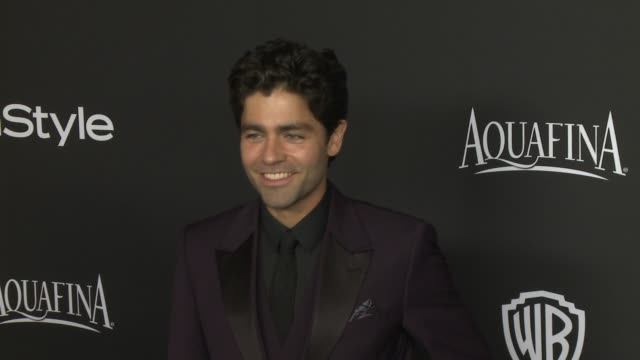Adrian Grenier at 16th Annual InStyle And Warner Bros Golden Globe AfterParty on January 11 2015 in Beverly Hills California