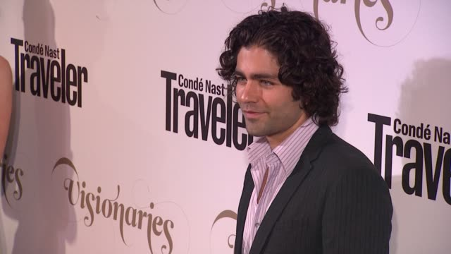 Adrian Grenier at Conde Nast Traveler Celebrates 'The Visionaries' And 25 Years Of Truth In Travel in New York 09/18/12