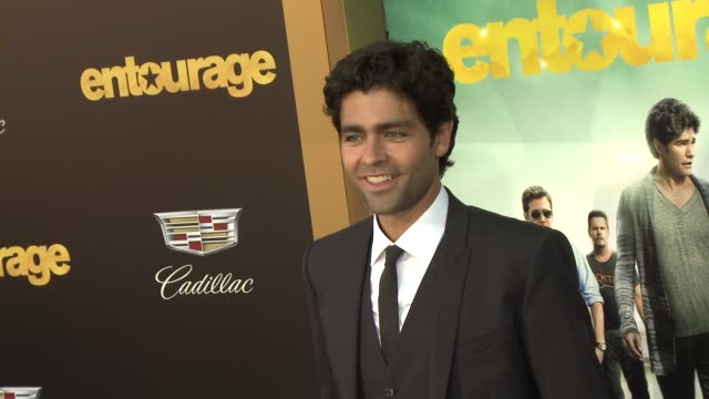 Adrian Grenier at Entourage Los Angeles Premiere at Regency Village Theatre on June 01 2015 in Westwood California