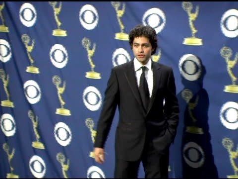 Adrian Grenier at the 2005 Emmy Awards press room at the Shrine Auditorium in Los Angeles California on September 19 2005