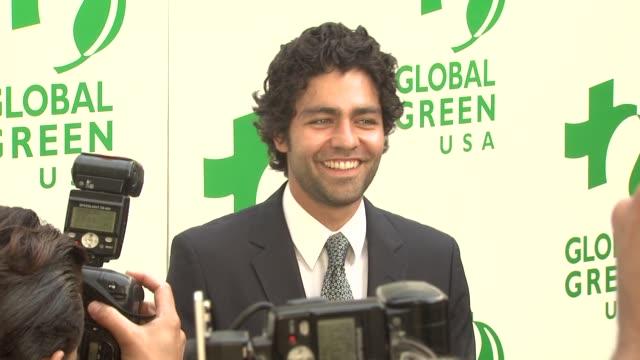 Adrian Grenier at the Global Green USA 13th Annual Millennium Awards at Santa Monica CA