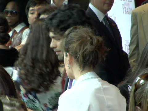 adrian grenier at the new york premiere of the devil wears prada at amc loews lincoln square in new york city new york - amc loews stock videos and b-roll footage