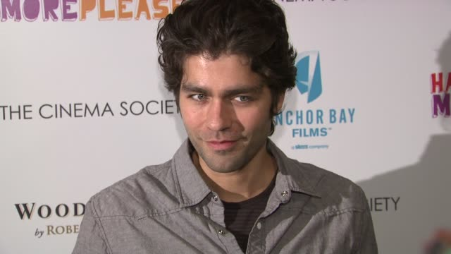 Adrian Grenier at the Premiere of 'happythankyoumoreplease' at New York NY