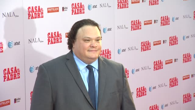 adrian martinez at casa de mi padre los angeles premiere on 3/14/12 in los angeles ca - padre stock videos & royalty-free footage