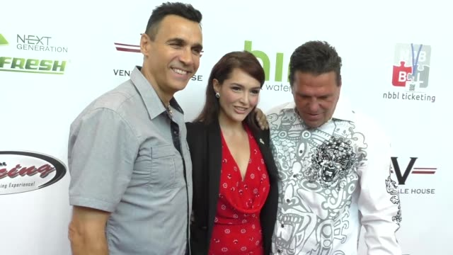 vídeos de stock e filmes b-roll de adrian paul and nataliya joy prieto at the peace fund's 2nd annual celebrity poker tournament at the reserve in playa vista at celebrity sightings in... - adrian paul