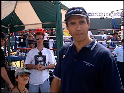 vídeos de stock e filmes b-roll de adrian paul at the shaqtacular 3 on september 19, 1998. - adrian paul