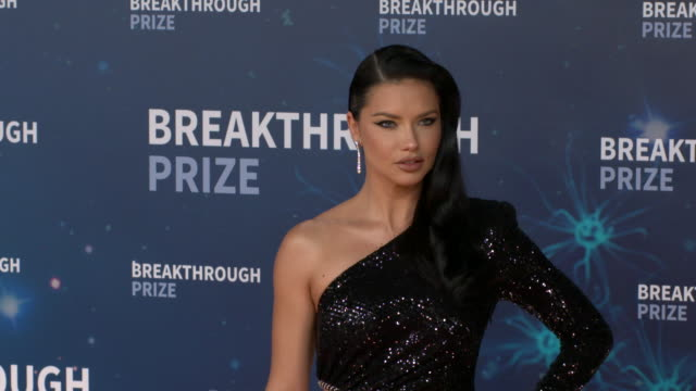 adriana lima at 2020 breakthrough prize at nasa ames research center on november 3 2019 in mountain view california - adriana lima stock videos and b-roll footage