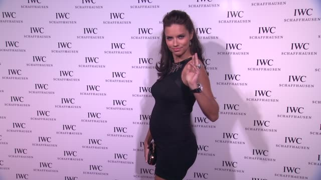 vídeos de stock, filmes e b-roll de adriana lima at iwc flagship boutique new york city grand opening on in new york - adriana lima