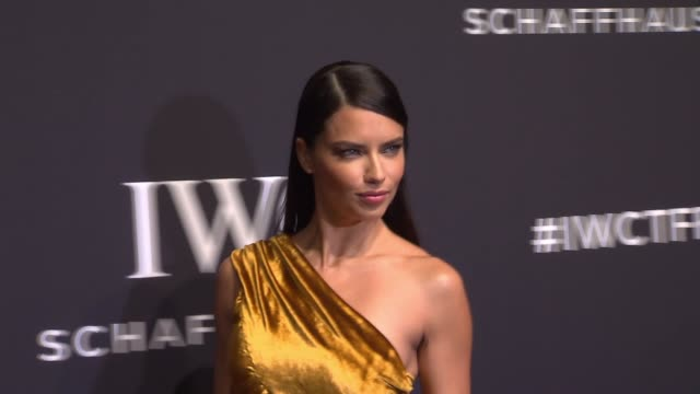vídeos de stock, filmes e b-roll de adriana lima at iwc schaffhausen 5th annual tribeca film festival event at spring studios on april 20 2017 in new york city - adriana lima