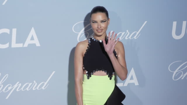 vídeos de stock, filmes e b-roll de adriana lima at the 2019 hollywood science gala on february 21 2019 in los angeles california - adriana lima