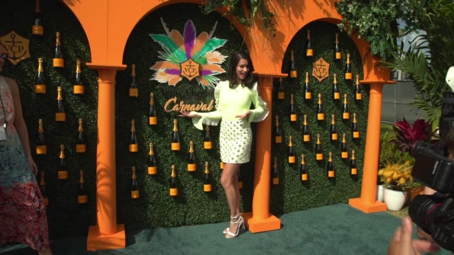 Adriana Lima at the Third Annual Veuve Clicquot Carnaval at Museum Park on March 4 2017 in Miami Florida