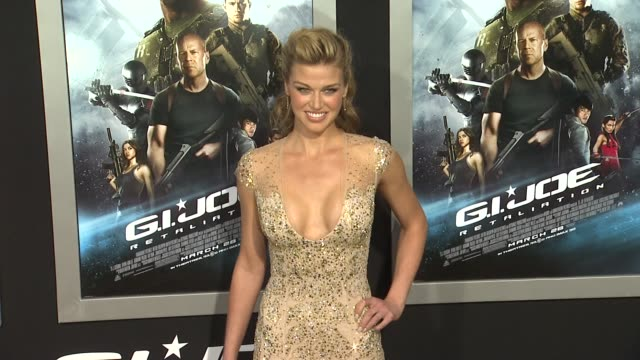 retaliation los angeles premiere 3/28/2013 in hollywood ca - adrianne palicki stock videos and b-roll footage