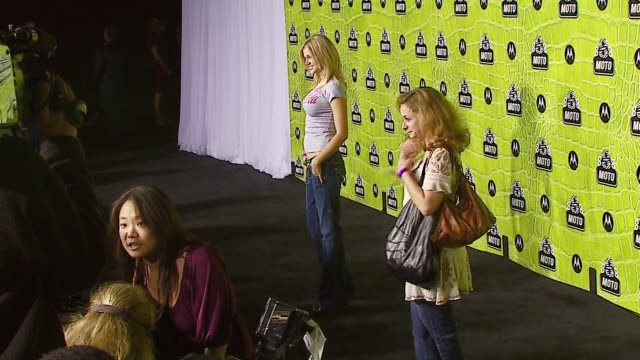 adrianne palicki at the 8th annual anniversary party hosted by motorola at the hollywood palladium in hollywood california on november 2 2006 - adrianne palicki stock videos and b-roll footage