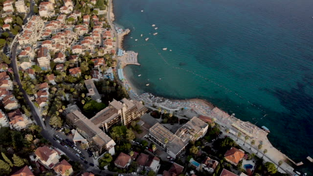 adriatic sea and old town - adriatic sea stock videos & royalty-free footage