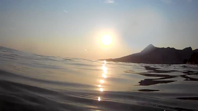 Adria Küste Wellen