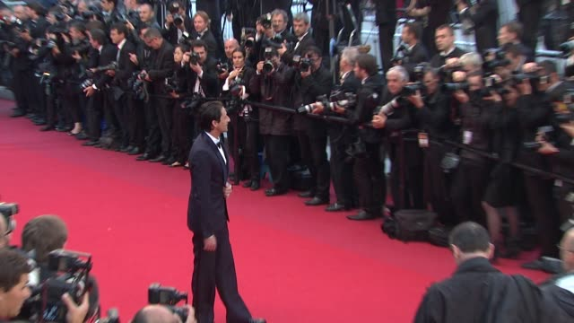 adrien brody at closing ceremony & therese desqueyroux premiere: 65th cannes film festival at lumiere on may 27, 2012 in cannes, france - adrien brody stock videos & royalty-free footage