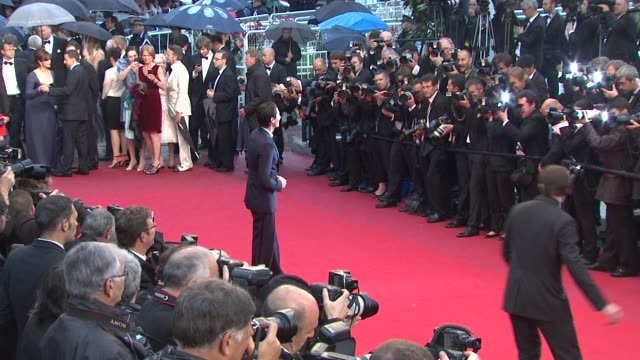 adrien brody at closing ceremony therese desqueyroux premiere 65th cannes film festival at lumiere on may 27 2012 in cannes france - adrien brody stock videos and b-roll footage