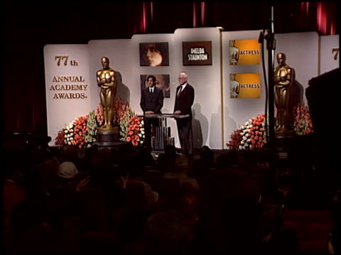adrien brody at the 2005 academy awards nominations at ampas in beverly hills, california on january 25, 2005. - adrien brody stock videos & royalty-free footage