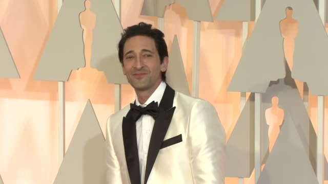 Adrien Brody at the 87th Annual Academy Awards Arrivals at Dolby Theatre on February 22 2015 in Hollywood California