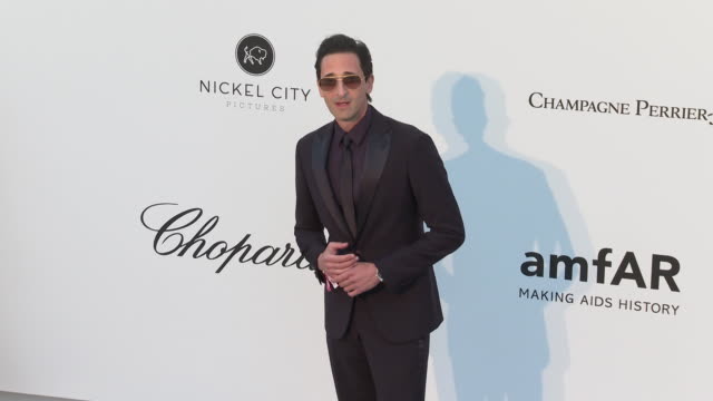 Adrien Brody at the amfAR Cannes Gala 2019 Arrivals at Hotel du CapEdenRoc on May 23 2019 in Cap d'Antibes France