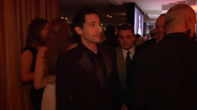 Adrien Brody at the Inside The Vanity Fair Oscar Party 2010 at West Hollywood CA
