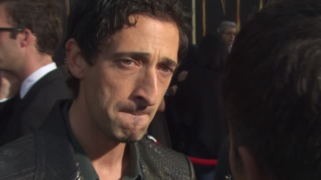 Adrien Brody at the 'Iron Man 2' Premiere at Hollywood CA