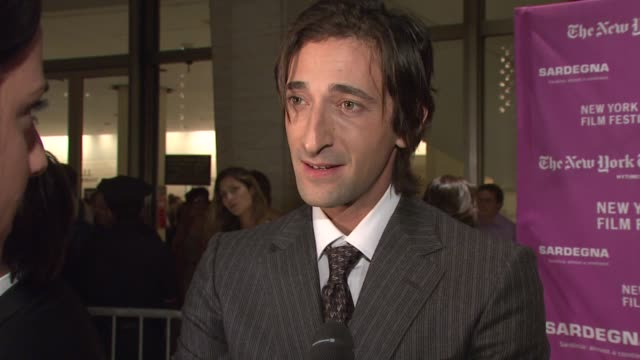 adrien brody at the new york film festival - 'the darjeeling limited' premiere - opening night at film society of lincoln center in new york, new... - adrien brody stock videos & royalty-free footage