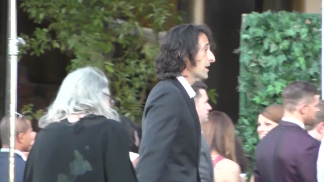 adrien brody at the television academy celebrates the 67th emmy award nominees for outstanding performances at montage beverly hills at celebrity... - montage beverly hills video stock e b–roll