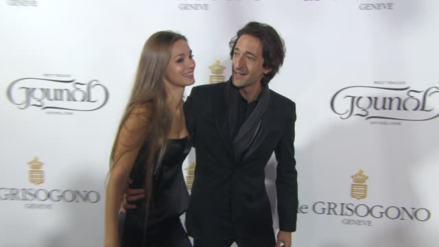 Adrien Brody Lara Lieto at de Grisogono party at Hotel du CapEdenRoc on May 19 2015 in Cap d'Antibes France