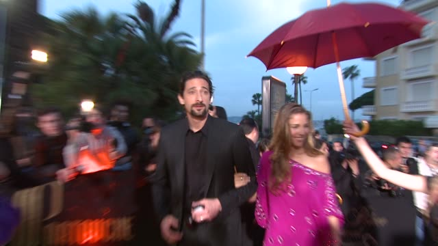 adrien brody on the charity he chose to represent at the cannes partouche charity poker tournament in cannes on may 18 2008 - adrien brody stock videos and b-roll footage