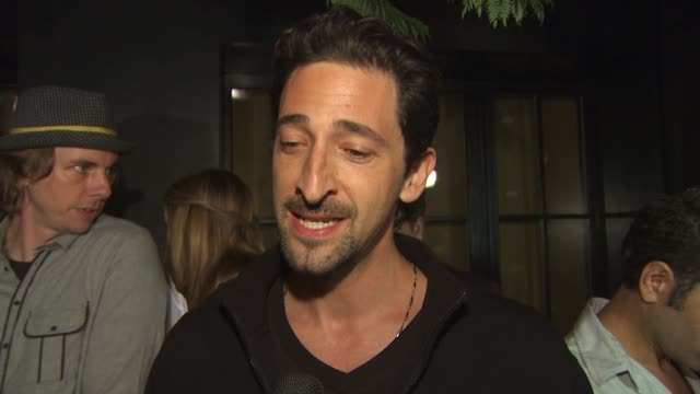 Adrien Brody on what brings him out tonight whether he is a skeptic or proponent on green issues and his tips for being green at the The Darker Side...