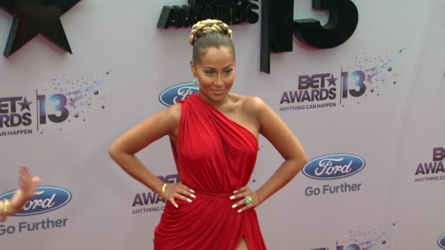 Adrienne Bailon at BET 2013 Awards Arrivals on 6/30/13 in Los Angeles CA