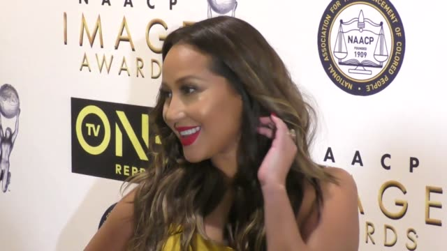 Adrienne Bailon at the 48th NAACP Image Awards Nominees' Luncheon on January 28 2017 in Hollywood California