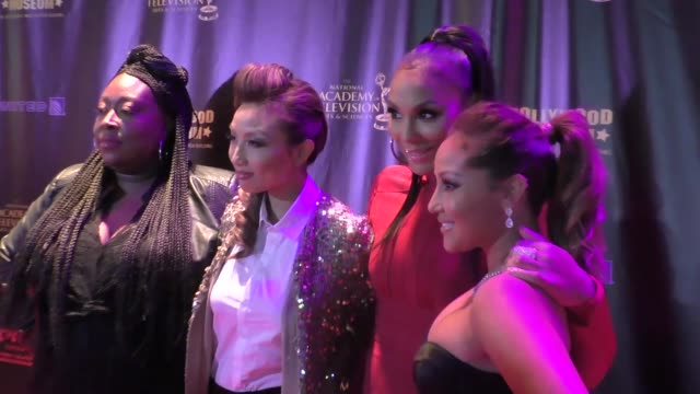 Adrienne Bailon Tamar Braxton Jeannie Mai Loni Love at the 2016 Daytime Emmy Awards Nominees Reception at The Hollywood Museum in Hollywood in...