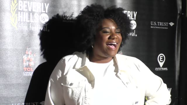 stockvideo's en b-roll-footage met adrienne c. moore at the beverly hills film festival - opening night premiere of the lennon report and baby, baby, baby at tcl chinese 6 theatre in... - tcl chinese theatre