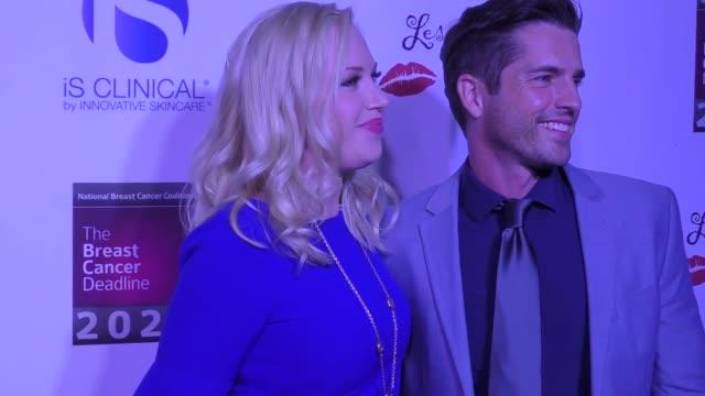 adrienne frantz & scott bailey at the 17th annual 'les girls' on october 15, 2017 in hollywood, california. - adrienne frantz stock-videos und b-roll-filmmaterial