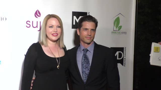 adrienne frantz & scott bailey at the dream builders project 3rd annual a brighter future for children black tie charity gala at taglyan complex in... - adrienne frantz stock-videos und b-roll-filmmaterial