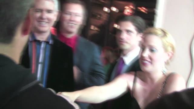 adrienne frantz & scott bailey greet fans at avalon in hollywood - adrienne frantz stock-videos und b-roll-filmmaterial