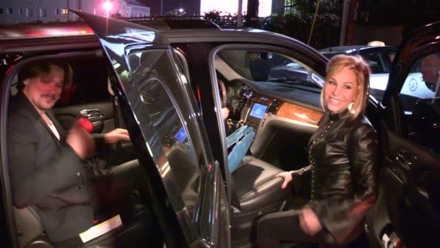 Adrienne Maloof Sean Stewart depart Chateau Marmont in West Hollywood 05/01/13