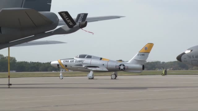 vídeos de stock, filmes e b-roll de advances in aviation in the early part of the jet age made the 1950's and 60's an exciting time to be a part of the fledgling united states air... - new age