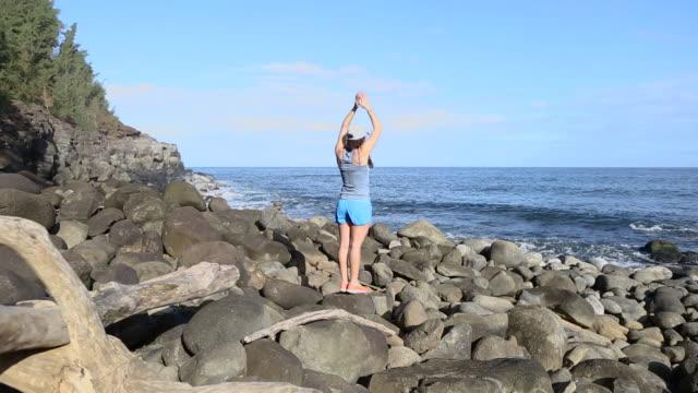 stockvideo's en b-roll-footage met adventure island vacation - drijfhout