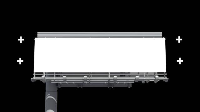 stockvideo's en b-roll-footage met reclame billboard - straatnaambord