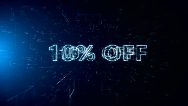advertisement text banner 10 percent off - capital letter stock videos & royalty-free footage