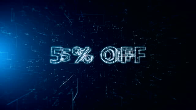 advertisement text banner 5 percent off - capital letter stock videos & royalty-free footage