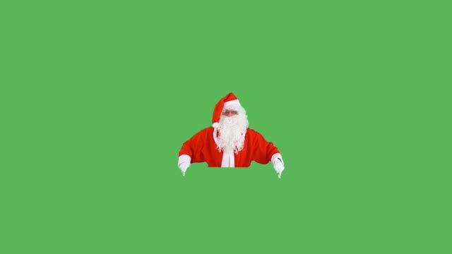hd :広告のサンタクロース - サンタクロース点の映像素材/bロール