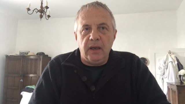 """advisor to the government on antisemitism, john mann, saying wiley """"needs help"""" after anti-semitic comments the artist posted on twitter - 反ユダヤ主義点の映像素材/bロール"""