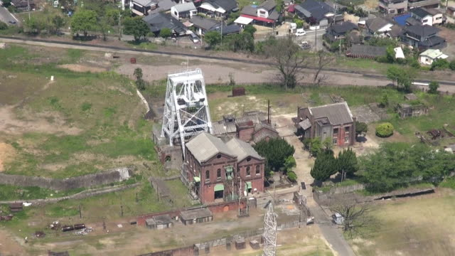 """advisory panel has recommended listing the """"sites of japan's meiji industrial revolution"""" as a world heritage site, the japanese cultural affairs... - unesco world heritage site点の映像素材/bロール"""