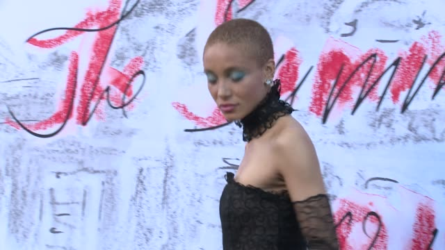 adwoa aboah iamddb at the serpentine gallery on june 19 2018 in london england - the serpentine london stock videos & royalty-free footage